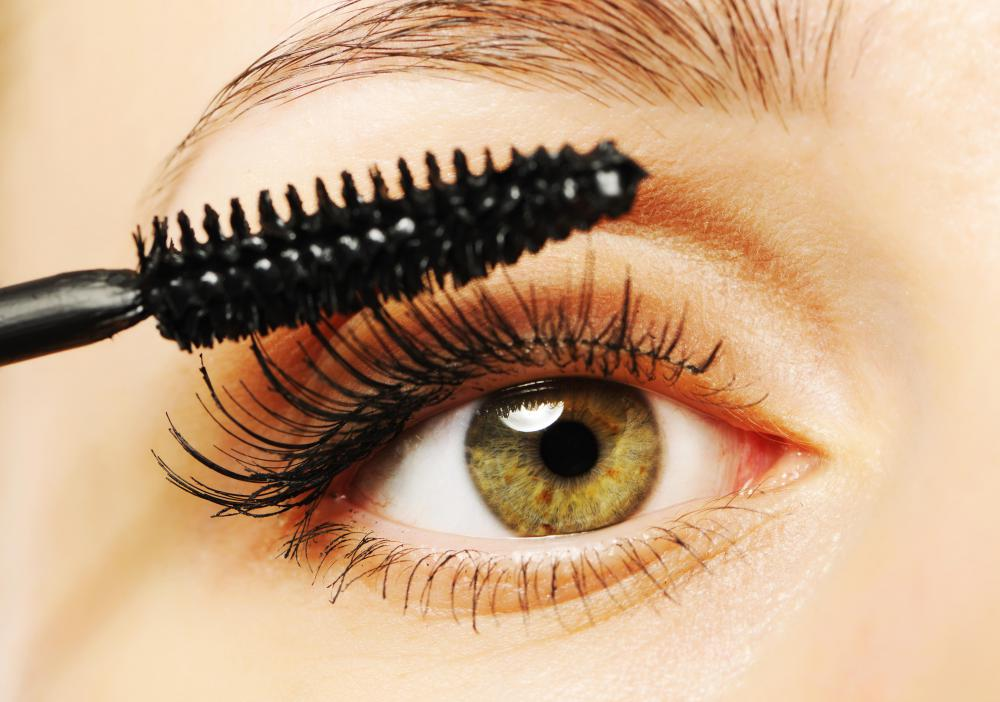 Black iron oxide pigment is often used in mascara and other cosmetics.