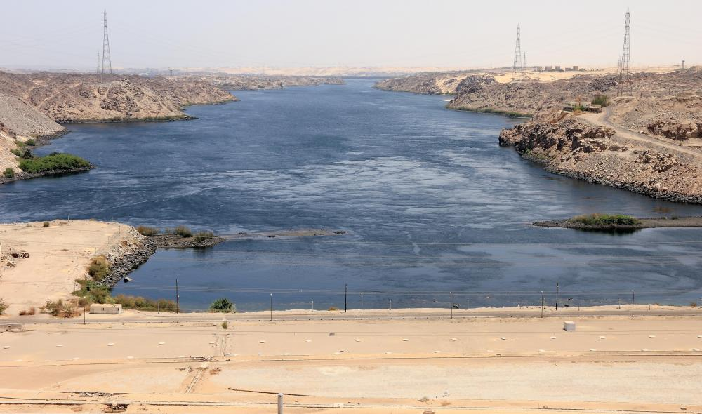 One of the six major sections of the Nile is in Egypt at Aswan.