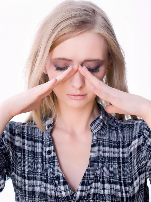 Sinus issues can result from poor air quality.