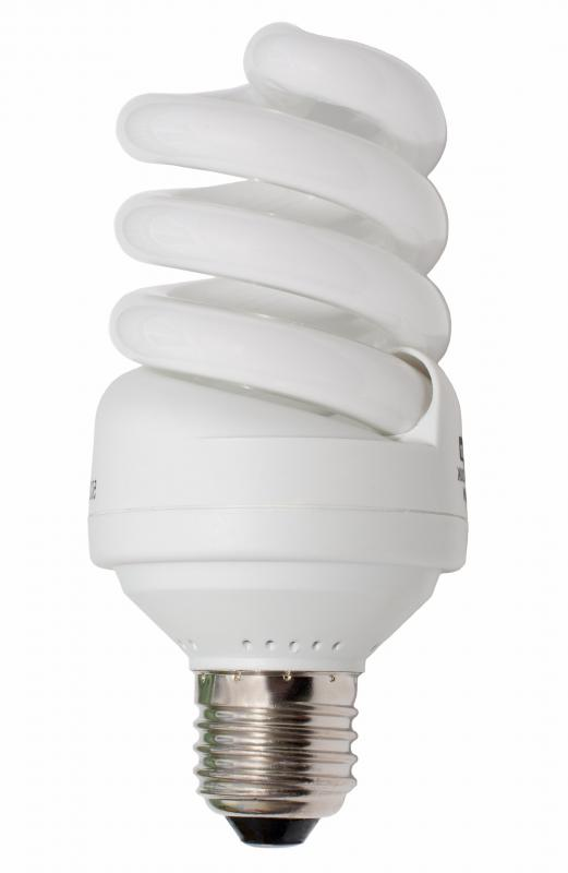 Switching to CFL light bulbs can help make a home more energy efficient.