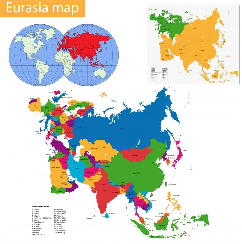 In Eurasia, the tree line varies between 66 and 72 degrees north, meaning that only the northern tips of Norway, Sweden, Finland, and Russia have one.