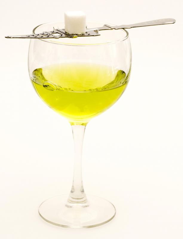The toxin in mugwort is also used in the primary ingredient used to make absinthe.