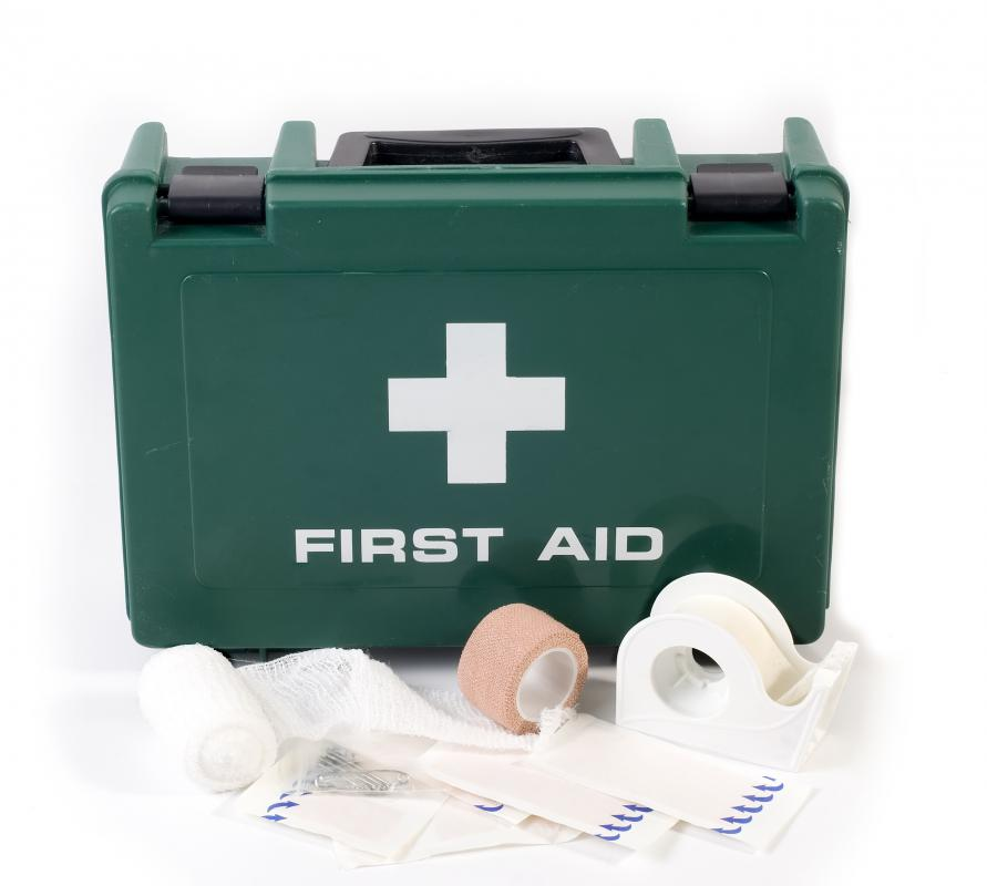 Providing first aid is very important during the immediate aftermath of a natural disaster.