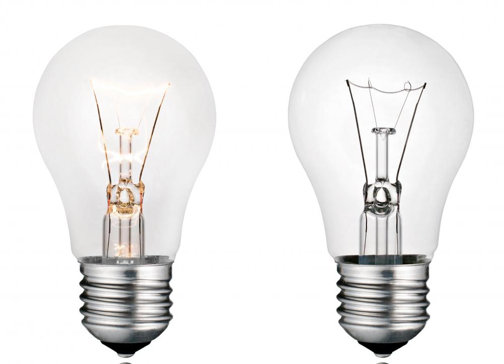 Traditional light bulbs are much less energy efficient than new ones.