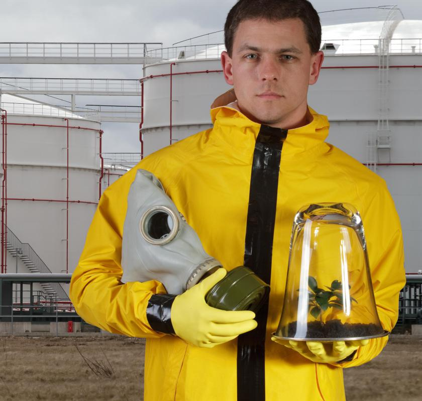 Some who work with sewer gases may be required to wear personal protective equipment.