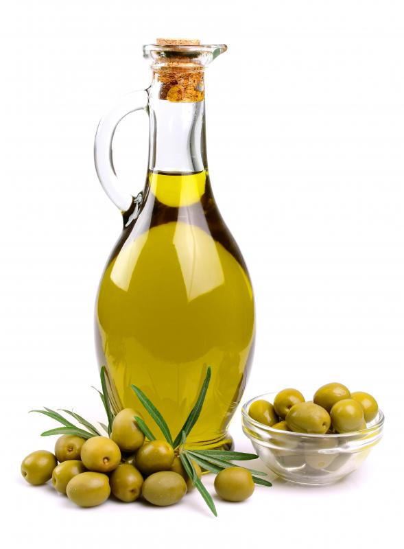 A couple of drops of olive oil on a dog's food daily will relieve constipation.