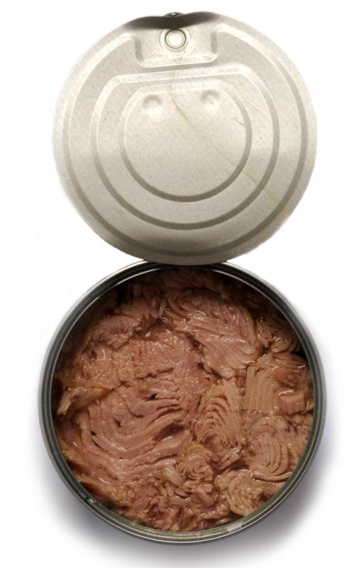 Skipjack tuna is available for purchase in canned form.