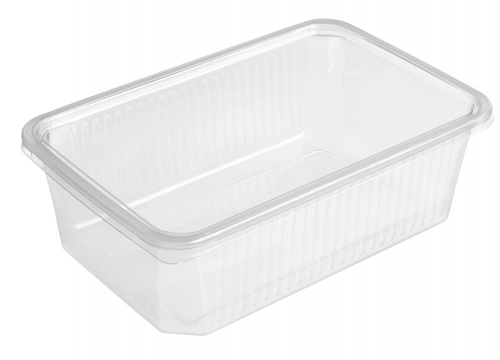 Plastic containers may be accepted by recycling centers.