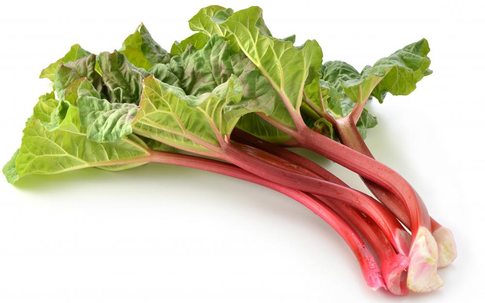 Rhubarb crowns can be used to grow new rhubarb plants.