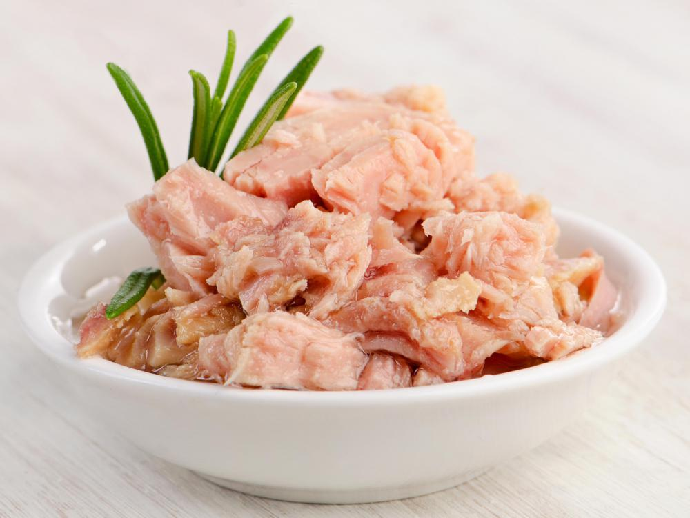 Albacore tuna can contain relatively high levels of mercury.