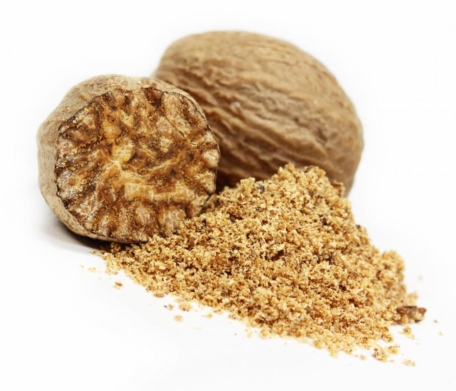 Cats and dogs should not be given foods that contain nutmeg.