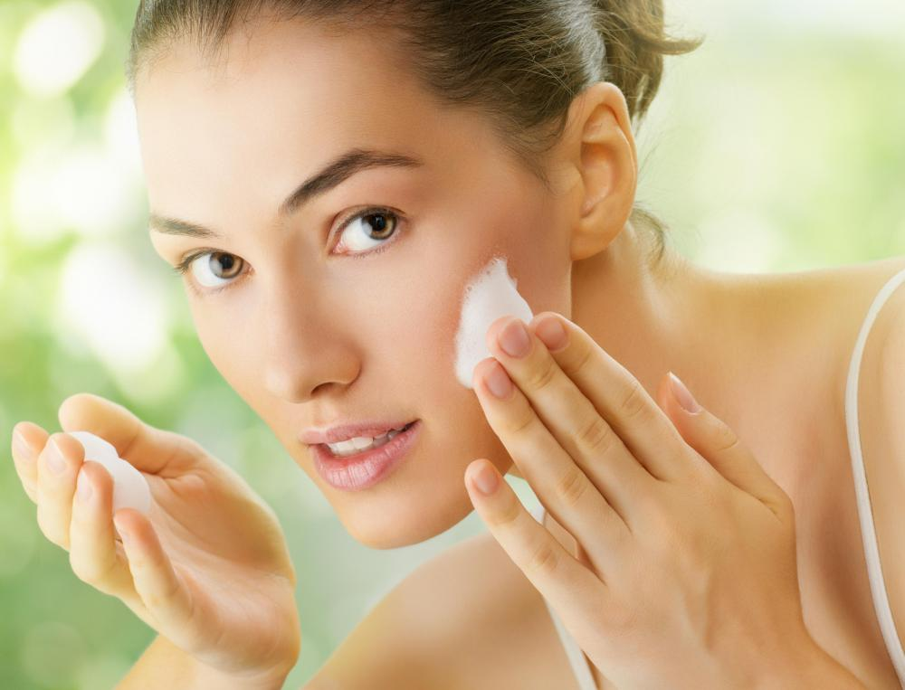 Iron oxide can be found in facial cream.