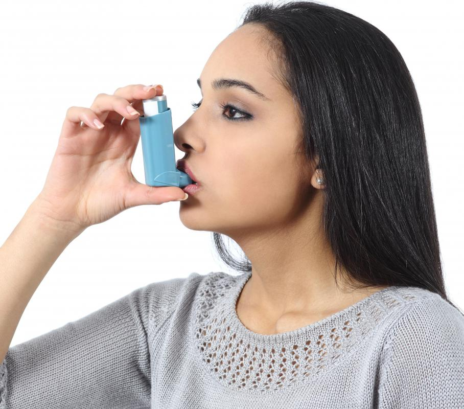 What constitutes a healthy environment may change for someone who suffers from asthma.