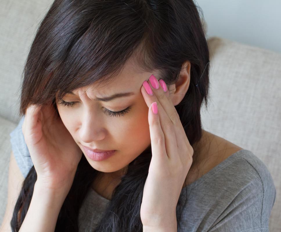 Chronic headaches may result from an unhealthy environment.